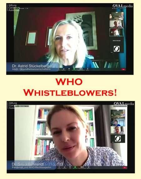 WHO Whistleblowers