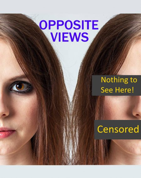 Opposite points of view