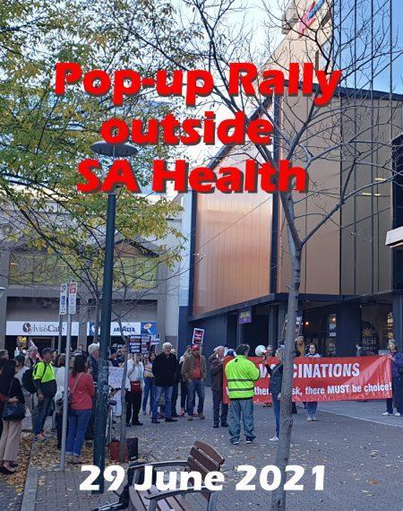 First pop-up rally