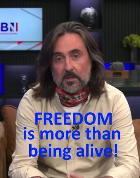 A message about freedom