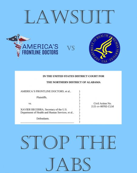 Lawsuit to stop the jab