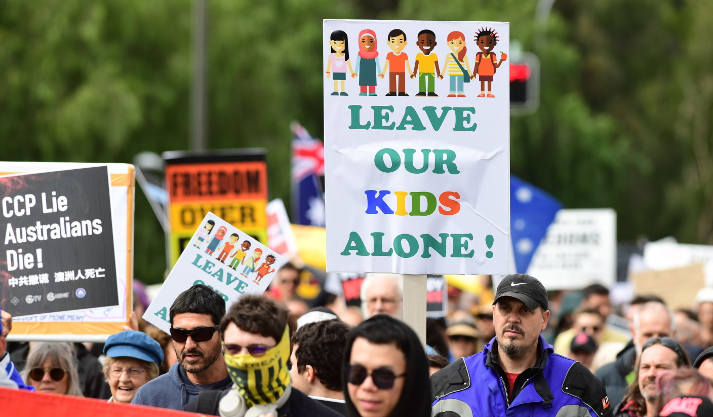 Leave our kids alone