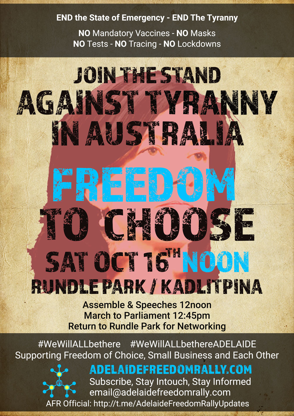 Freedom to Choose Rally